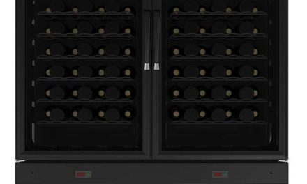 Medidas da Adega Climatizada Venax 96G – 350L Preto – 2 Portas