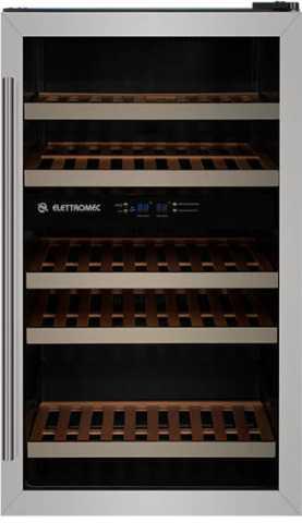 Medidas da Adega Elettromec 34 garrafas, Dual Zone