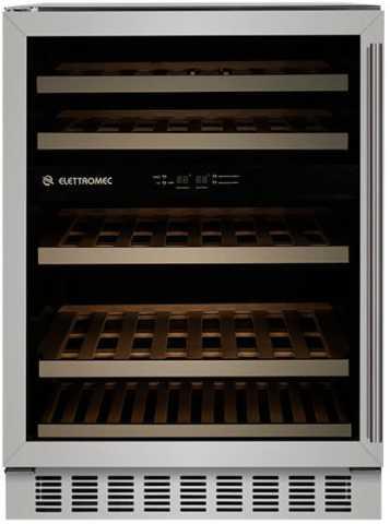 Medidas da Adega Elettromec de Embutir 45 garrafas, Dual Zone