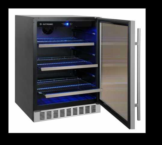 Modelo do frigobar da marca Elettromec - 95 litros - FB-95
