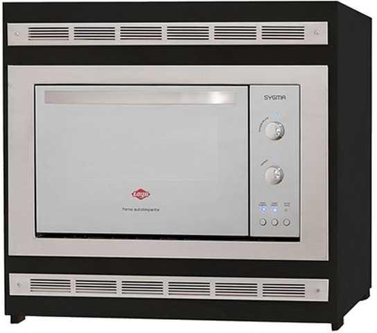 Medidas do forno elétrico de embutir Layr Sigma Inox