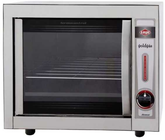 Medidas do forno a gás Layr Gold Inox Advanced