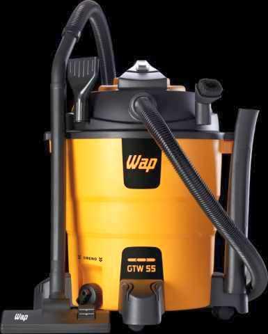 Medidas do Aspirador de pó e água WAP - GTW 55