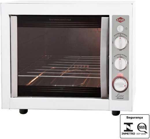 Medidas do forno elétrico Layr Luxo Clean Advanced 2.4