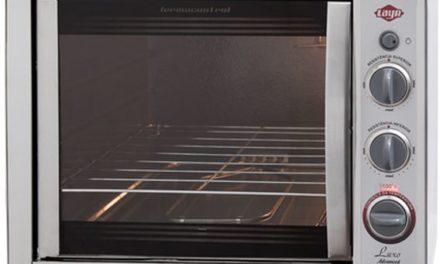 Medidas do Forno Elétrico Layr 46L Luxo Inox Advanced 2.4