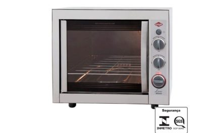Medidas do Forno Elétrico Layr 46L Luxo Inox Advanced 2.4