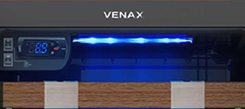 Medidas da adega Venax