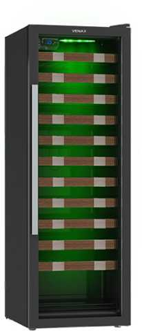 Medidas da adega Venax 59 garrafas - Piu Bella 200 Color Light