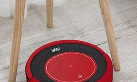 Medidas do Robô Aspirador de Pó WAP – Robot W300