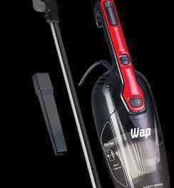 Medidas do Aspirador de pó vertical ou portátil WAP Silent Speed