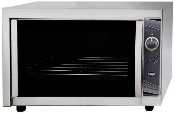 Medidas do forno a gás Layr Titanyum Plus Inox Industrial