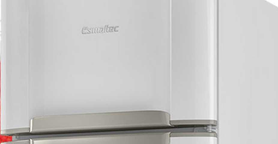 medidas da geladeira da marca Esmaltec
