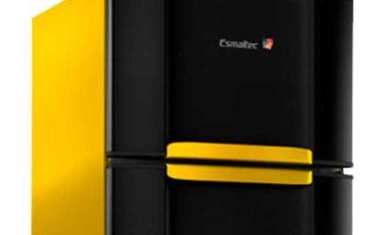 Medidas da Geladeira Amarelo 2 Portas Esmaltec 306L – RCD38 WAY
