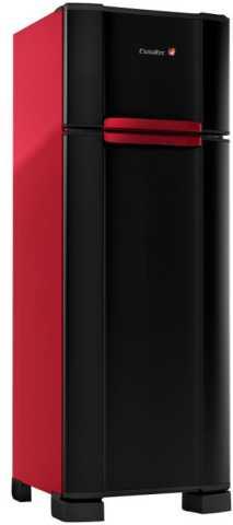 medidas da geladeira vermelho esmaltec RCD38 WAY