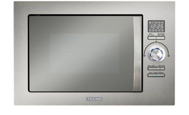 Medidas do microondas de embutir com grill 25 litros Tecno - Velox TM25