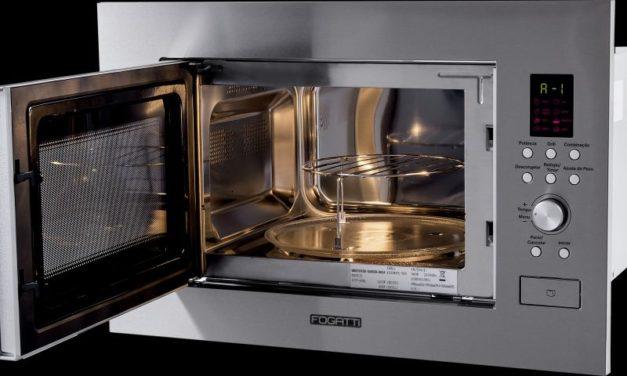 Medidas de Microondas de Embutir Fogatti 23L com Grill – M230