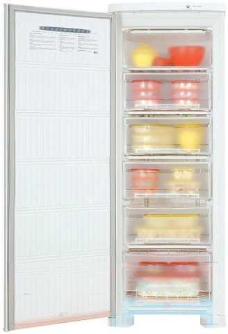 Medidas do freezer vertical Electrolux FE22