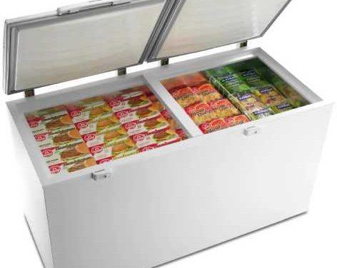 Medidas do Freezer Horizontal Electrolux Cycle Defrost 385 litros – H400