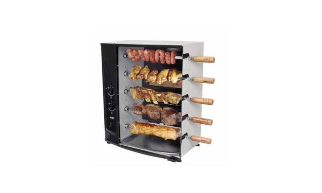 Manual da churrasqueira a gás de bancada Arke – AGR-05