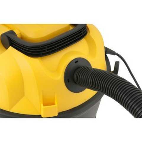 Medidas do aspirador de pó e água profissional Vonder - APV1210