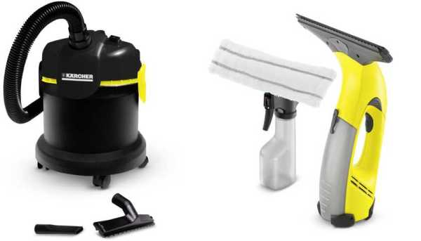 Medidas do aspirador Karcher