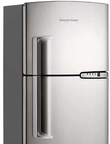 Como ajustar a temperatura da geladeira Brastemp BRM39