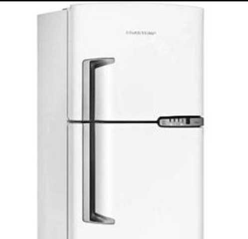 Como ajustar a temperatura da geladeira Brastemp BRM42