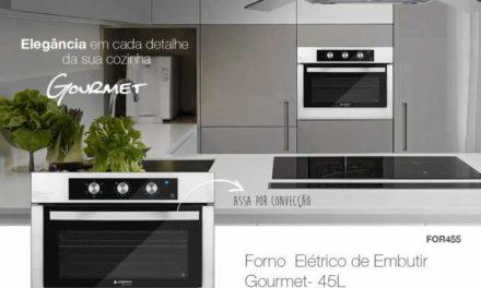 Medidas do Forno elétrico de embutir Cadence Gourmet 45L – FOR455