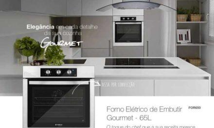 Medidas do Forno elétrico de embutir Cadence Gourmet 65L – FOR650