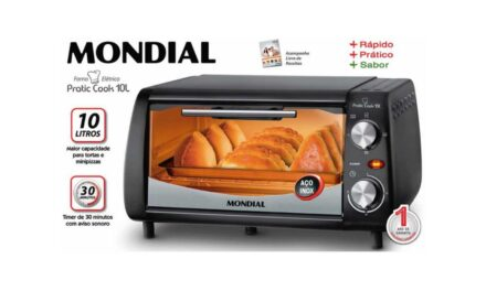 MANUAL DO FORNO ELÉTRICO MONDIAL – FR-08