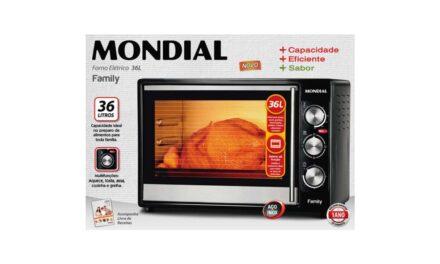 MANUAL DO FORNO ELÉTRICO MONDIAL – FR-15