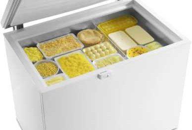 Manual de instruções do freezer Electrolux 305L horizontal – H300