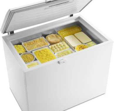 Medidas do Freezer Horizontal Electrolux Cycle Defrost 305 litros H300