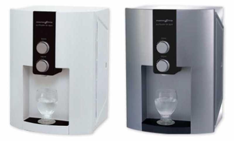 Medidas do purificador de água Masterfrio - Master Home
