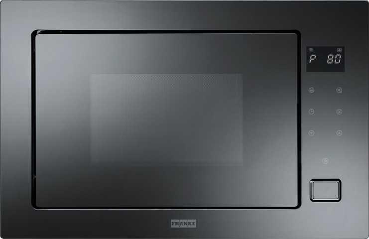 Medidas do micro-ondas Franke FMW250 CR2 G BK