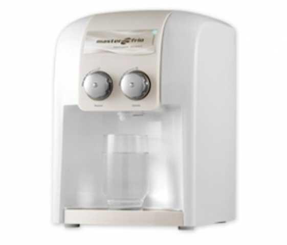 Medidas do purificador de água Masterfrio - Residence