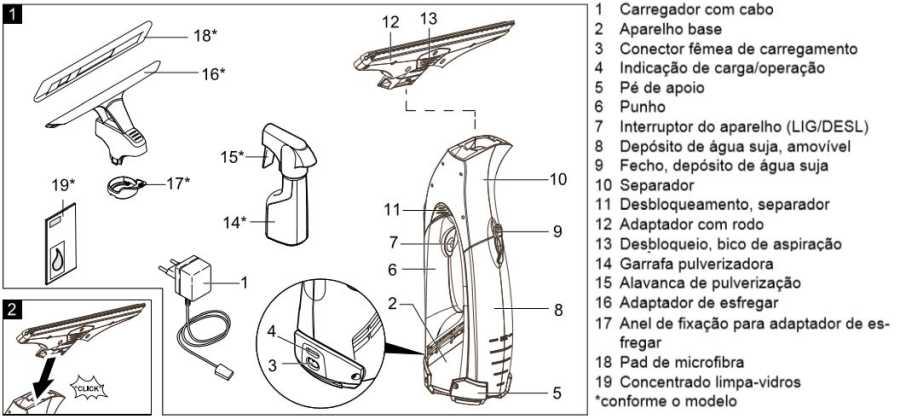 Aspirador de janelas Karcher - conhecendo produto