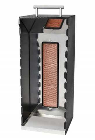 Medidas da churrasqueira a gás de espetinhos - AG-10