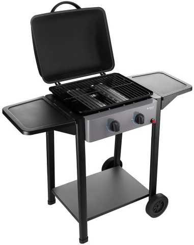 Medidas da churrasqueira a gás Cadence - Gourmet Barbecue 2 queimadores