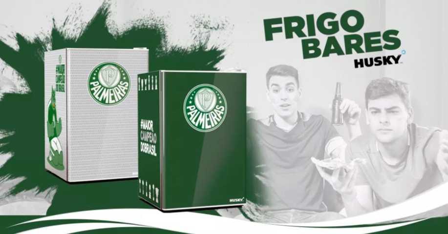 Medidas do frigobar Husky - Palmeiras
