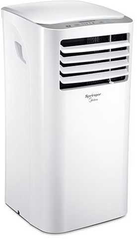 Medidas do ar condicionado portátil Springer Midea Frio 12000 btu