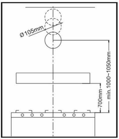 Depurador de ar Suggar 60 cm - DI61BR