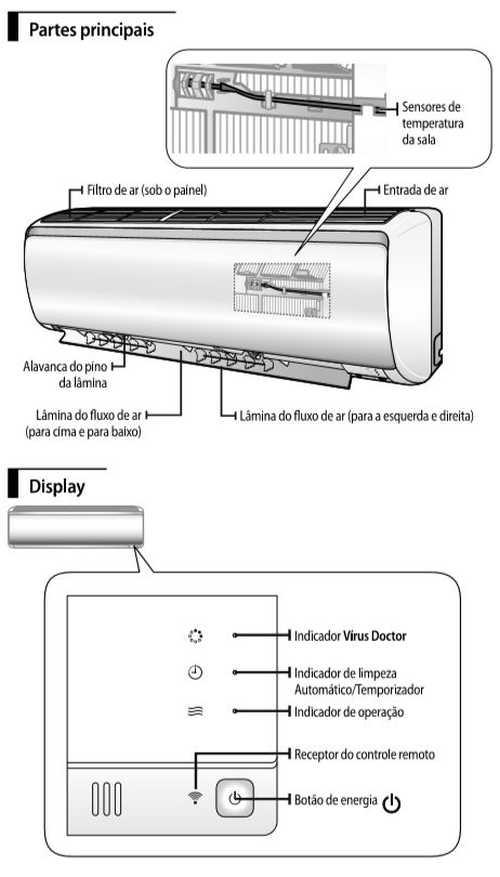 Ar condicionado split Samsung  Digital Inverter 8 polos Frio - conhecendo produto