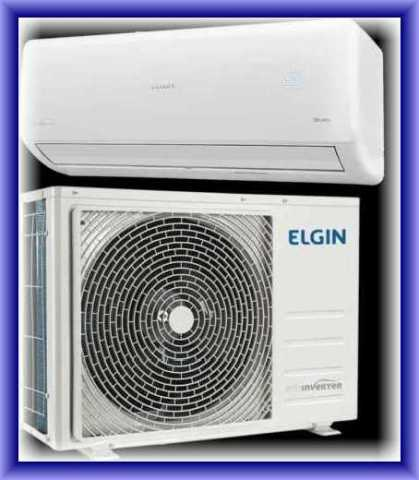 Medidas do ar condicionado split Elgin eco inverter 30000 btu - quente frio