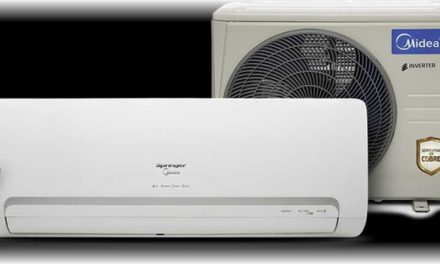 Medidas do Ar Condicionado Split Springer Midea Inverter Q/F 12000Btu
