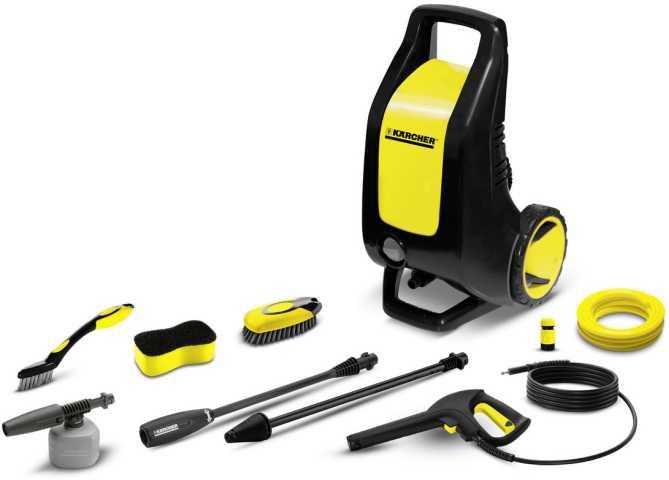 Medidas da Lavadora de Alta Pressão Karcher K 3 Premium kit auto