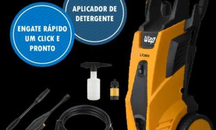 Medidas da Lavadora de Alta Pressão WAP Líder 2200
