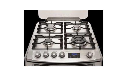 Conhecendo fogão a gás Electrolux 4 bocas de embutir – 56EFX