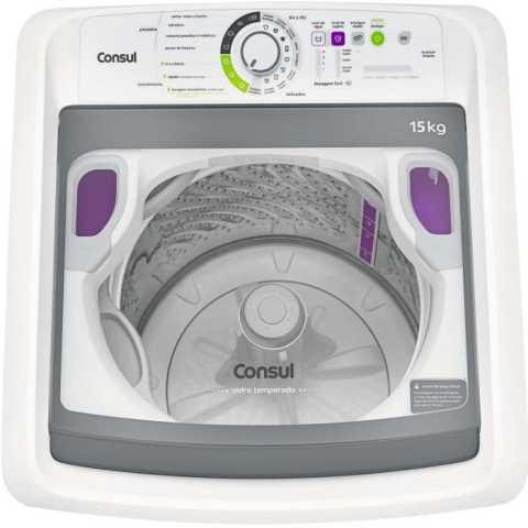 Lavadora de roupas Consul CWE15 - medidas