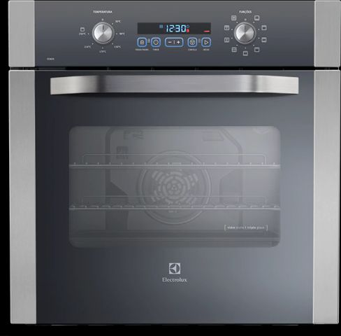 Forno Eletrico de Embutir Electrolux 80L Branco - OE8DX - solução de problemas da lavadora